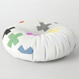 Crosses II Floor Pillow
