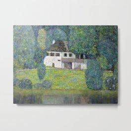 Gustav Klimt - Litzlbergkeller Metal Print