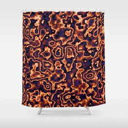 Liquid Mercury Shower Curtain