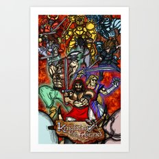 Knights of the Round Art Print