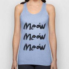 Meow Meow Meow 2 Unisex Tank Top