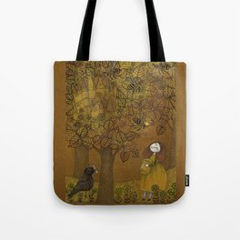 The Queen of Bees and the Princess who loved Honey Tote Bag