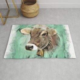 Pretty Cow Rug