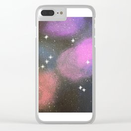Libra Constellation Clear iPhone Case