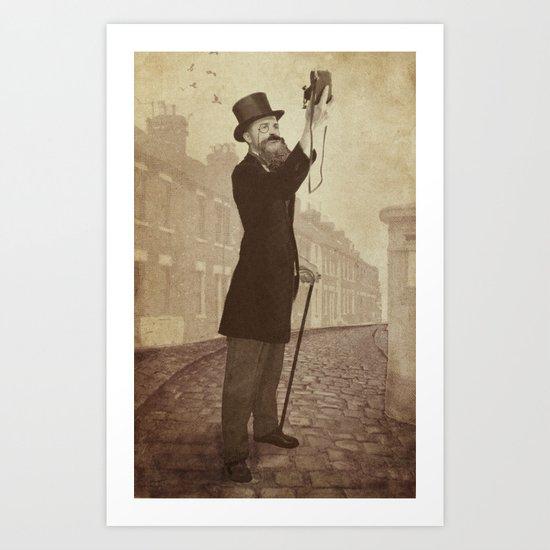 Vintage Selfie Art Print