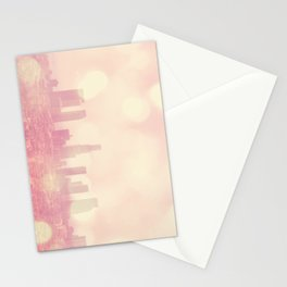 City of Dreamers. Los Angeles skyline photograph Stationery Cards