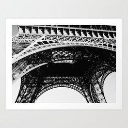 La Tour Eiffel/The Eiffel Tower Art Print