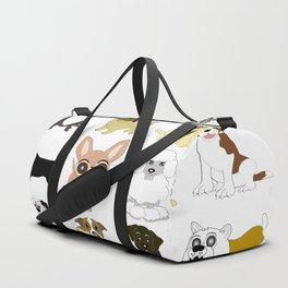 Pet dogs design Duffle Bag