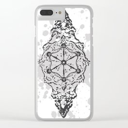 MH009-W Clear iPhone Case