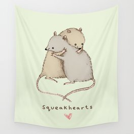 Squeakhearts Wall Tapestry