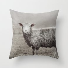 The Sheep Throw Pillow