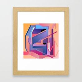 Maskine 9 Framed Art Print