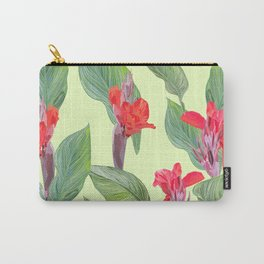 tropical pattern Carry-All Pouch