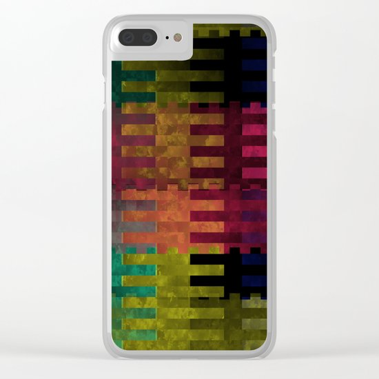Abstract 148 Clear iPhone Case