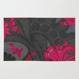 Black Lace of India Rug
