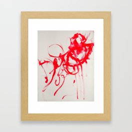 Manticore Framed Art Print