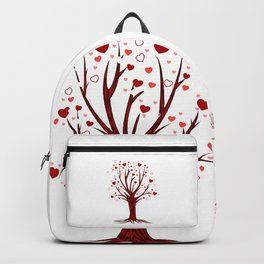 Heart Tree (2) Backpack