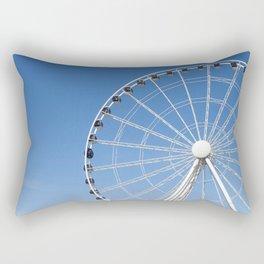 Seattle Great Wheel Rectangular Pillow