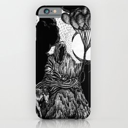 Death has a Pony iPhone Case