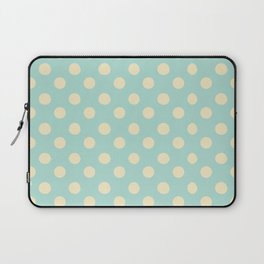 Dotted - Soft Blue Laptop Sleeve