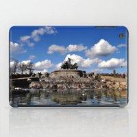 copenhagen iPad Cases featuring fountain copenhagen by  Agostino Lo Coco