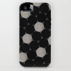 Black Polka iPhone (5, 5s) Tough Case