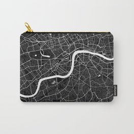 London - Minimalist City Map Carry-All Pouch