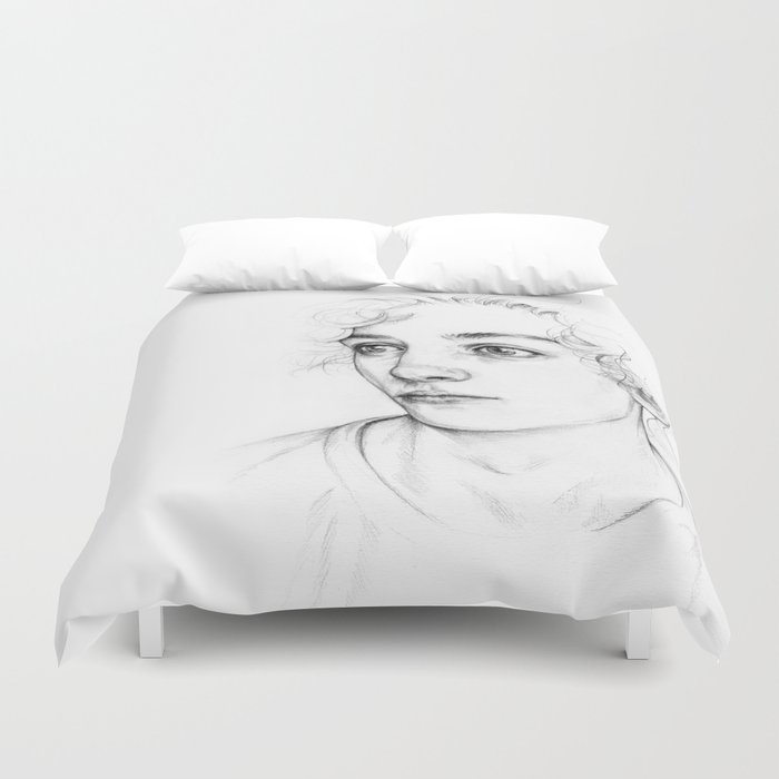 Boy  Duvet Cover