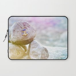 Anchor at the rock Laptop Sleeve