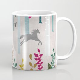 Flying Horses Coffee Mug