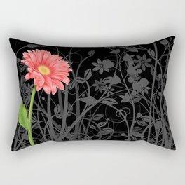 Gerbera Daisy #3 Rectangular Pillow