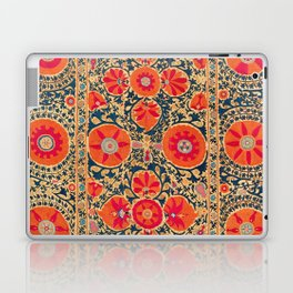 Kermina Suzani Uzbekistan Print Laptop & iPad Skin