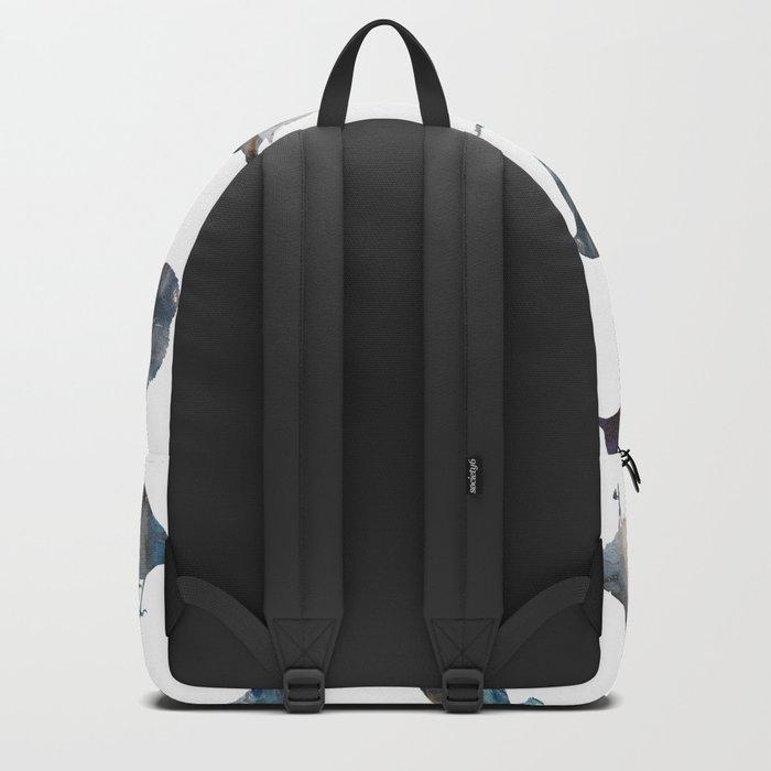 Bird Watercolor Backpack
