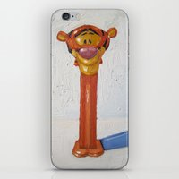 tigger iPhone & iPod Skins featuring tigger by nicole newsted