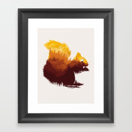 Be  a Little Wild Framed Art Print