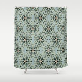 Ice flower 1a Shower Curtain