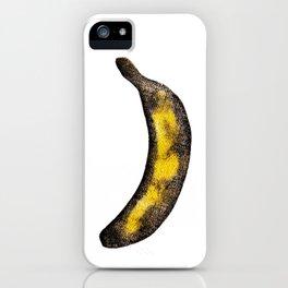 Pop banana iPhone Case