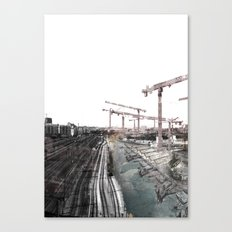 Paris d'avenir 6 Canvas Print