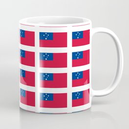 Flag of Samoa-Samoa,samoan,Tala,Savai'i,Upolu,Apia Coffee Mug