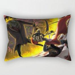 Pumpkin VS Pumpkin Rectangular Pillow