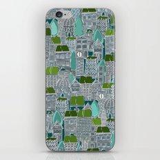 rooftop tennis iPhone & iPod Skin