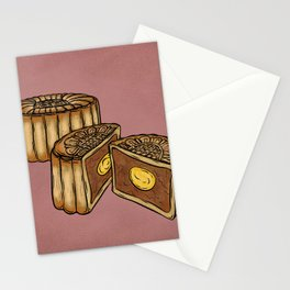 M is for Moon Cake Stationery Cards