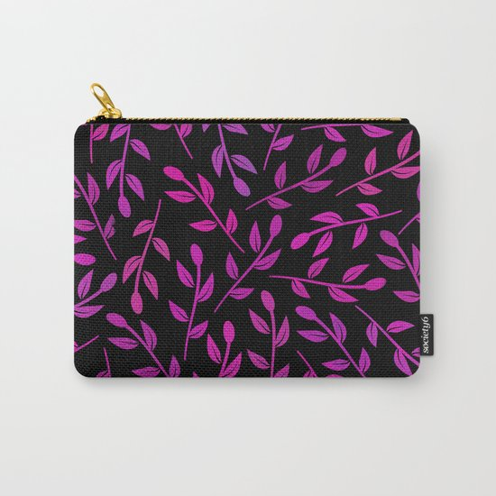 Colorful Leaves VII Carry-All Pouch
