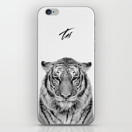 African Tiger iPhone Skin