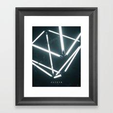 170126 / ZEPHYR Framed Art Print