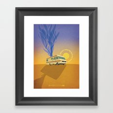 Breaking Bad - Four Days Out Framed Art Print