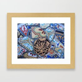 Gaudi, Parc Guell Framed Art Print