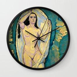 "Koloman (Kolo) Moser ""Venus in the Grotto"" Wall Clock"