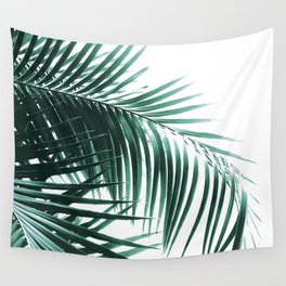 Palm Leaves Green Vibes #8 #tropical #decor #art #society6 Wall Tapestry