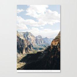 SIMPLE & DEEP Canvas Print